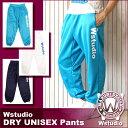 Wstudio☆ダブルスタジオ☆【全3色×2サイズ】DRY UNISEX Pants ☆