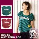 Wstudio☆ダブルスタジオ☆【全2色】WST AERO TOP☆