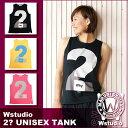 Wstudio☆ダブルスタジオ☆【全3色】2? UNISEX TANK ☆
