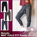 Wstudio☆ダブルスタジオ☆【全3色】WST YULU FIT Pants☆