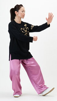 Satin Tai pants (Raspberry)