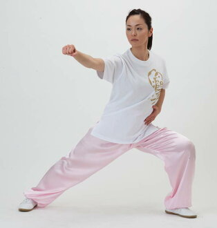 Personalized satin Tai Chi pants