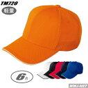 帽子 通気性に優れた軽量タイプ ハニカムエアーキャップ 00720-HCP トムス TM720HCP