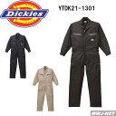 ツナギ服 dickies ディッキーズ カーゴポケットで抜群の収納力 長袖つなぎ服 山田辰 YTDK1301