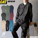 ツナギ服 CAT カジュアルラインの決定版 長袖つなぎ服 クレヒフク KR1610
