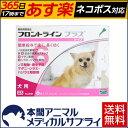 【送料無料】犬用 フロントラインプラス XS (5kg未満用) 1箱 6本入 6ピペット【動物用医薬品】【365日あす楽】