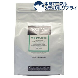 プロベット ウエイトコントロール(750g)【PRO-VET】