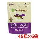 ペットナチュラルズ デイリーベスト 犬用 45粒×6袋
