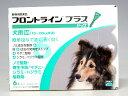 【年間投与がオススメ!】(動物用医薬品)【ノミ・ダニ・シラミ駆除】犬フロントラインプラス M (10kg〜20kg) 6ピペット
