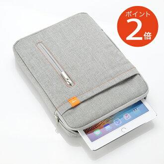 直到 iPad 平板電腦主機殼 (灰色)-10.8 型平板電腦 (9.7 英寸 iPad Pro,iPad 空氣和表面 3,Xperia 平板) 能夠手,配件口袋與 532P17Sep16