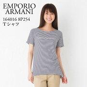 エンポリオアルマーニ レディース Tシャツ EMPORIO ARMANI 【UNDER WEAR】 WHITE 164016 8P254