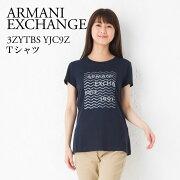 アルマーニエクスチェンジ レディース Tシャツ ARMANI EXCHANGE NAVY 3ZYTBS YJC9Z