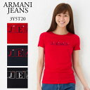 アルマーニジーンズ レディース ロゴTシャツ ARMANI JEANS 3Y5T20 5J15Z 選...