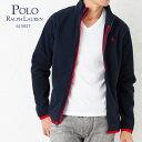 ポロラルフローレン ZIPトレーナー 615027 ボーイズライン(メンズ) ネイビー 【ポロラルフローレン:Polo Ralph Lauren】