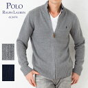【月末限定】 ポロラルフローレン メンズ ジップセーター POLO RALPH LAUREN 613474 ボーイズライン 選べるカラー 【ポロラルフローレン:Polo Ralph Lauren】