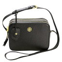 トリーバーチ バッグ ショルダーバッグ TORY BURCH 32149961 001 BLACK ROBINSON PEBBLED DOUBLE-ZIP CROSS-BODY