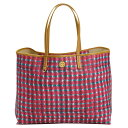 トリーバーチ バッグ トートバッグ TORY BURCH 12159540 987 SONDA COMBO A KERRINGTON SQUARE TOTE