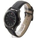 ウェンガー 腕時計 メンズ WENGER WEN70475 ALPINE BK/BK カワ ブラック × ブラック