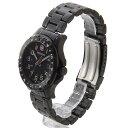 【週末限定】 ウェンガー 腕時計 メンズ WENGER WEN79309 オフロード BK/BK ブラック × ブラック