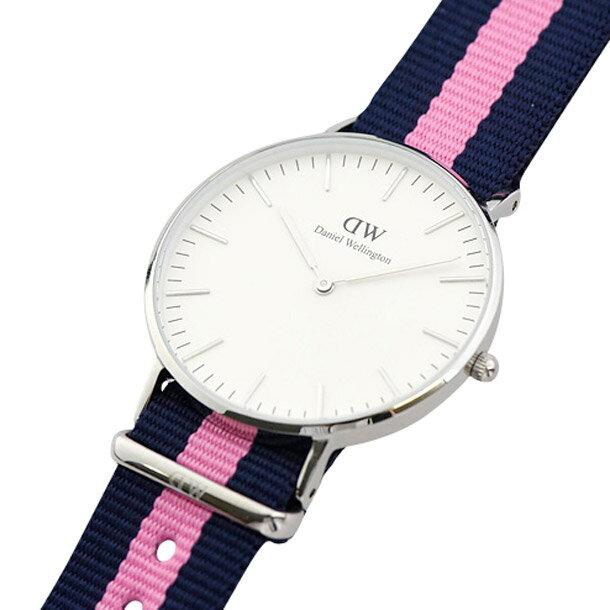 ダニエルウェリントン 腕時計 ユニセックス DANIEL WELLINGTON 0604DW ウィンチェスター シルバーカラー 36mm ダニエルウェリントン ボーイズウォッチ