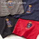 ポロ ラルフローレン マフラー POLO RALPH LAUREN 6F0628 USフラッグベアー刺繍 選べるカラー