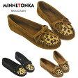 ミネトンカ 靴 フラットシューズ MINNETONKA Leopard Kilty Suede Moc レオパード キルティ スウェード モカシン 選べる3色