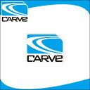 ショッピングステッカー CARVE ステッカー アイコン シール マリンスポーツ サーフィン スケボー