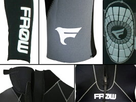 ウェットスーツフル3mm2mmFROW黒灰MLウェットスーツウエットスーツ【希望小売価格の60%OFF】サーフィンフルスーツウエットスーツサーフボード