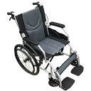 送料無料 自走式 折りたたたみ車椅子 介助・介護兼用