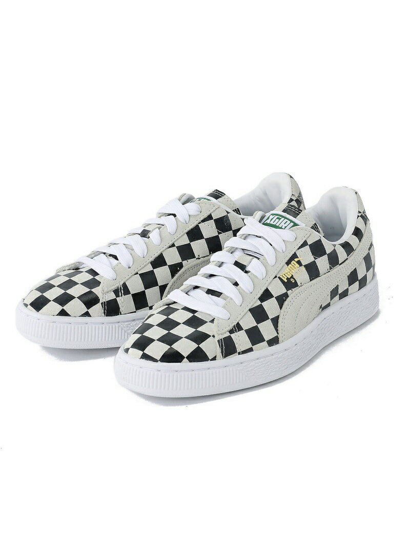 【SALE/10%OFF】X-girl X-girl x PUMA CHECKERED SUEDE エックスガール シューズ【RBA_S】【RBA_E】【送料無料】