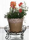 【代引不可】【同梱不可】※花・植物・鉢は商品に含まれませんワイヤーフロア花台