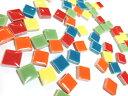 RoomClip商品情報 - 1cm角の小さなタイルモザイクタイル テンアート 10mm角(特別色)50g単位で量り売りします(50粒前後)10×10×4mm【ゆうパケット可】【500gまでゆうパケット可能】