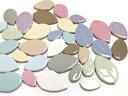 RoomClip商品情報 - 大きさも色も全てをMIXモザイクタイル リーフMIX 100g*お色やサイズの指定はできません。【ゆうパケット可】【500gまでゆうパケット可能】