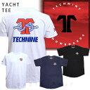 TECHNINE テックナイン メンズ レディース 半袖 Tシャツ YACHT おしゃれ カットソー T9-SSTEE-YACHT