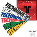 送料無料 TECHNINE テックナイン ステッカー ブランドおしゃれ かっこいい TECHNINE ロゴ T9-STICKER-TECHNINE