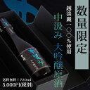 ★超希少【中汲み大吟醸原酒】720ml