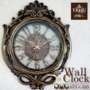 【ポイント5倍 7月】【Y-KAGU直輸入】【初回限定:お買い得企画】ウォールクロック(壁時計) アンティーククラシック(L)