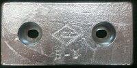 KZC 亜鉛板 B-8 4枚の画像
