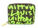 ルイヴィトン Louis Vuitton モノグラム グラフィティジッピーコインパース M93709コインケース 小銭入れ ヴェール グリーン【中古】【程度A-】【美品】