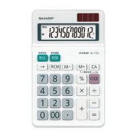シャープ 小型電卓 EL−772JX 12桁 (EL-772JX)