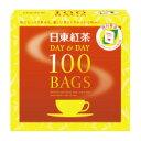 三井農林 日東紅茶ティーバッグ デイ&デイ 100バッグ (508240)