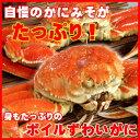 かにみそた~っぷり♪ボイルズワイガニ(ずわいがに姿)750g 2尾 /蟹 【楽ギフ_のし】