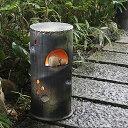 庭園灯 和風照明 陶器照明 信楽焼照明 行燈 あんどん ガーデンライト 屋外ライト 和風
