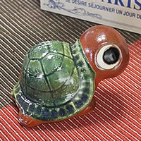 Shigaraki baked 3, Fu turtles (fire) longevity and luck blessings and! Pottery crock / lucky charm / / turtle ornaments and kimono and while big / garden / figurines /