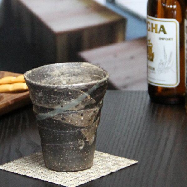 信楽焼フリーカップ巻雲フリーカップビアカップビアマグ陶器ビアカップビアグラスやきもの信楽コップ器食器
