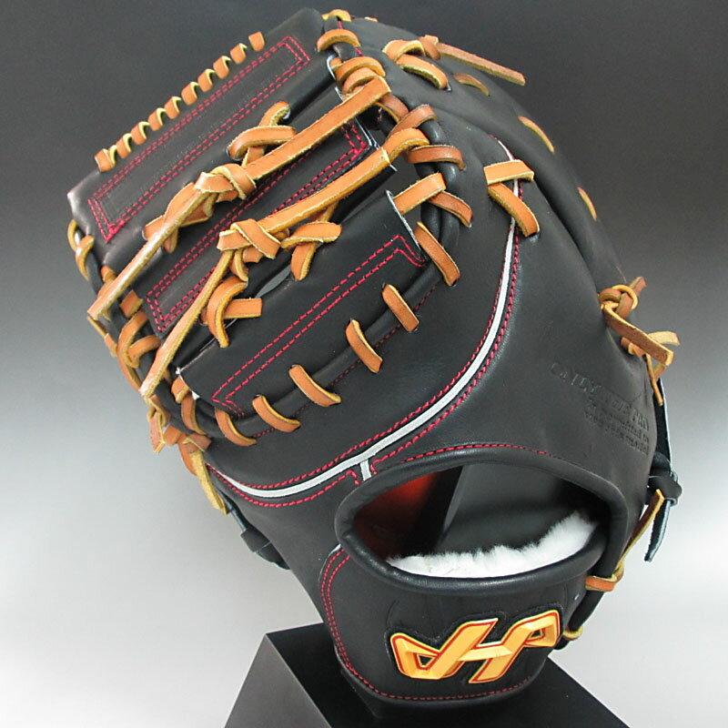 2016年モデル ハタケヤマ HATAKEYAMA 一般硬式 PBWシリーズ 一塁手用 PBW-4301B ブラック 左投げ(RH)