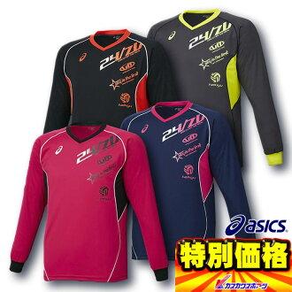 穿長袖的排球實踐 / 排球實踐鈴聲 Asic T 恤印刷 / 排球 t 恤 Asic / 排球實踐鈴聲和排球 / 排球 t 恤