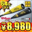 【送料無料】 64%OFF 2015年モデル ウィルソン 硬式金属バット ディマリニ・ベクサムTB WTDXJHOVX
