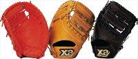 ザナックス XANAX BJF-3117 野球 ファーストミット 軟式ジュニアファーストミット ザナパワー ディープRオレンジの画像