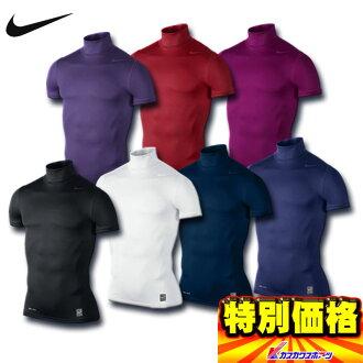 50%的折扣耐克 Nike Pro 短袖汗衫打擊核心龜不銹鋼沙 / 做 502937